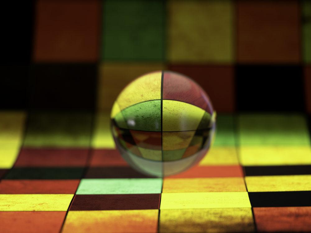 Chessboard & Ball